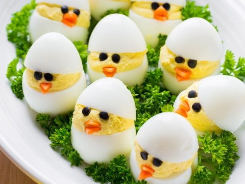 Egg is high in protien