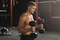 Hammer Curls with Dumbbells